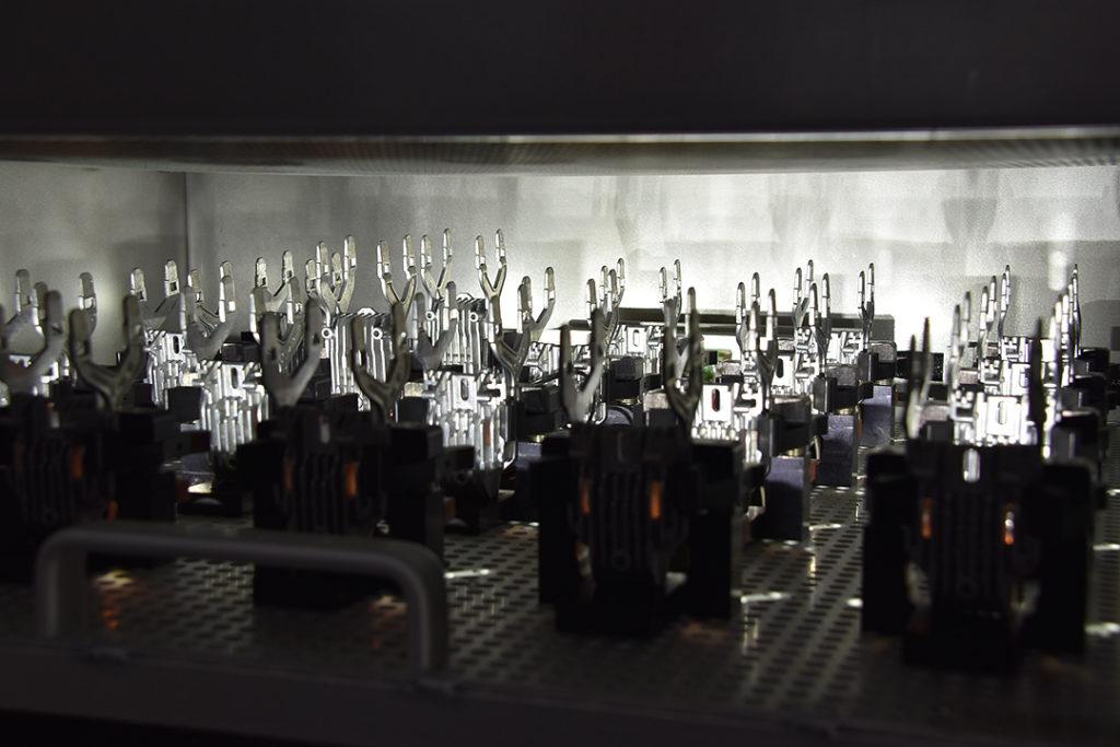 Systém pro testování LED světel